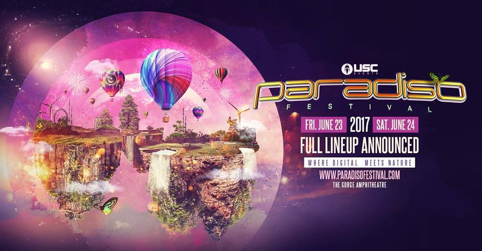 USC EVENTS PRESENTS THE PARADISO FESTIVAL 2017 LINEUP